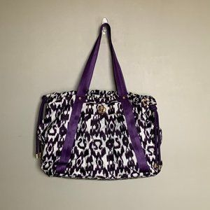 Rare Lululemon Effortless ikat print duffel bag